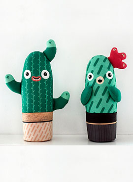 DIY Cacti pillow
