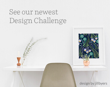 See the Folk Art Tea Towel Design Challenge