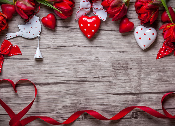 Shop Valentine's Day fabric, wallpaper and gift wrap