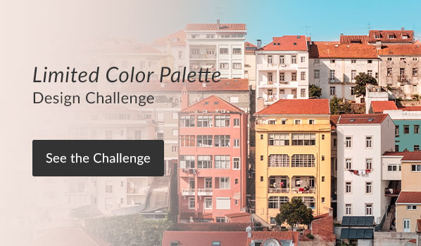 See the Limited Color Palette Design Challenge Results