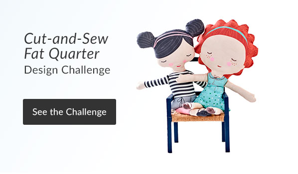 See the Cut & Sew Fat Quarter Project Design Challenge Results