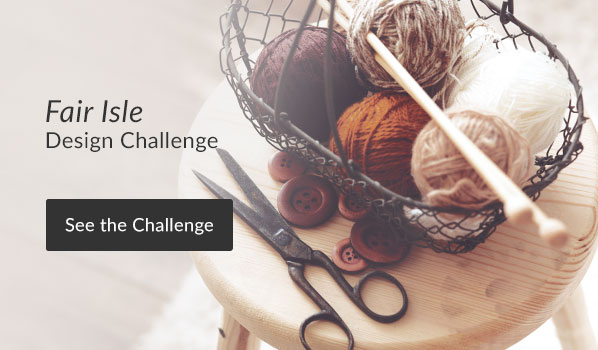See the Fair Isle Design Challenge
