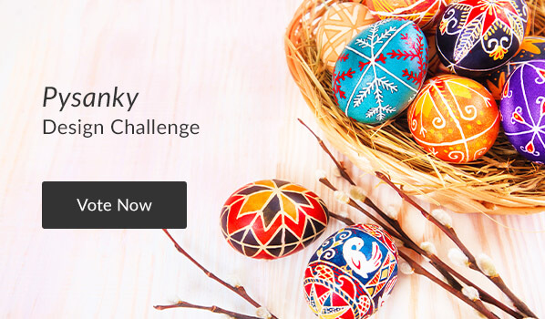 See the Pysanky Design Challenge
