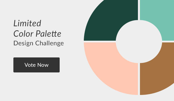 See the Limited Color Palette Design Challenge