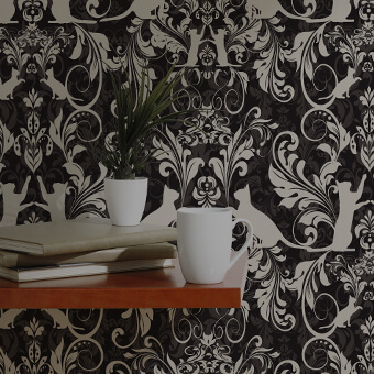 Reimagined Damask Wallpaper Design Challenge